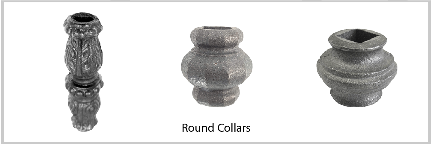 Round Collars. Excellent Quality from Superior Ornamental Supply.