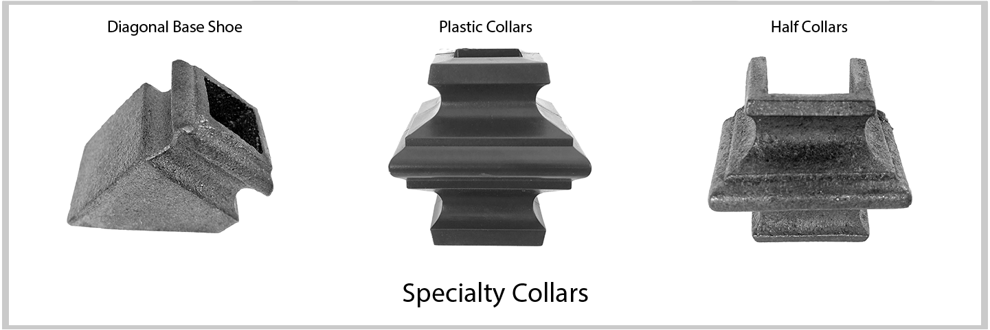 Specialty Collars. Excellent Quality from Superior Ornamental Supply.