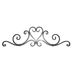 Forged Steel Wrought Iron Scroll Panels 70-180
