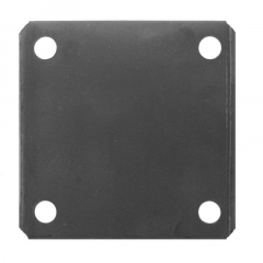 Steel Square Base Plate - Flat - Various Sizes