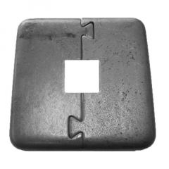 Puzzle Flanges Steel - Square - Price Varies with Size