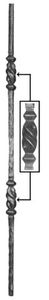 Forged Balusters 64-312