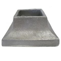 Aluminum Cover Shoes - 4 x 4 Base ACS2314 - Price Varies with Size