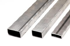 Hammered Rectangular Tube - 4 Corners - 20 ft - Price Varies with Size