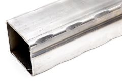 Hammered Square Tube - 4 Corners - Price Varies with Size
