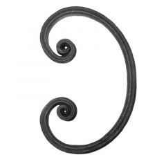 Steel Wrought Iron Scrolls SC6182 - Various Sizes