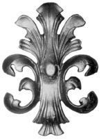 Cast Steel Leaves & Ornaments 55-860