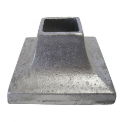 Aluminum Cover Shoe - 3 x 3 Base - Price Varies with Size