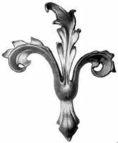 Cast Steel Leaves & Ornaments 55-862