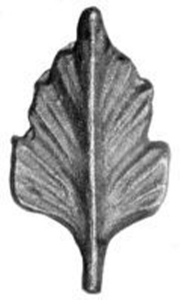 Cast Steel Leaves & Ornaments 55-897