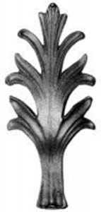 Cast Steel Leaves & Ornaments 55-898
