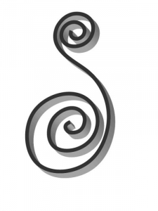 Flat Bar Scroll - Custom Newport Wrought Iron  Scroll - FCSN-03 Superior Ornamental Supply