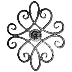 Forged Steel Wrought Iron Scroll Panels 70-410