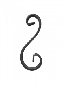 Steel Wrought Iron Scroll SS80-A-Various Sizes