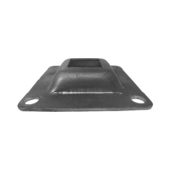 Steel Square Base Plate - Raised - Price Varies with Size