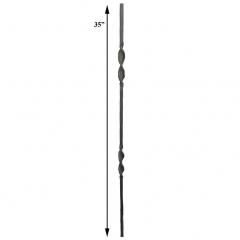 Twisted Balusters SUI50-6